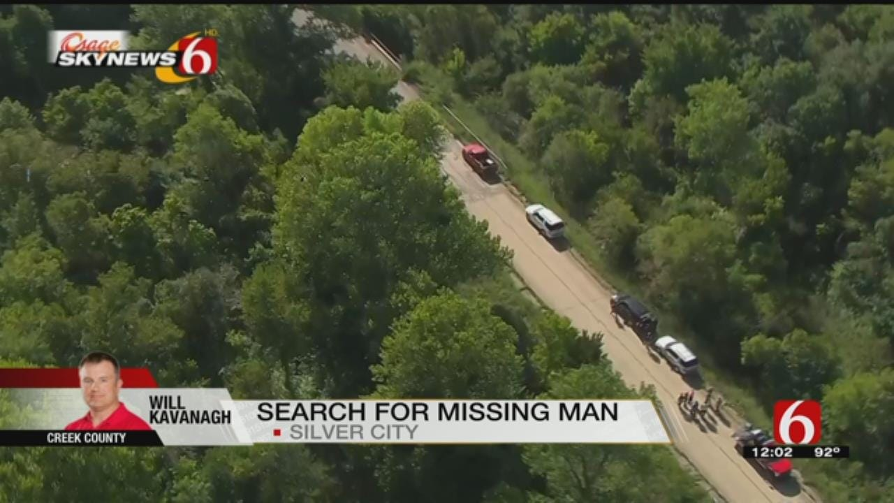 Osage SkyNews 6 HD Flys Over Creek County Search For Missing Man
