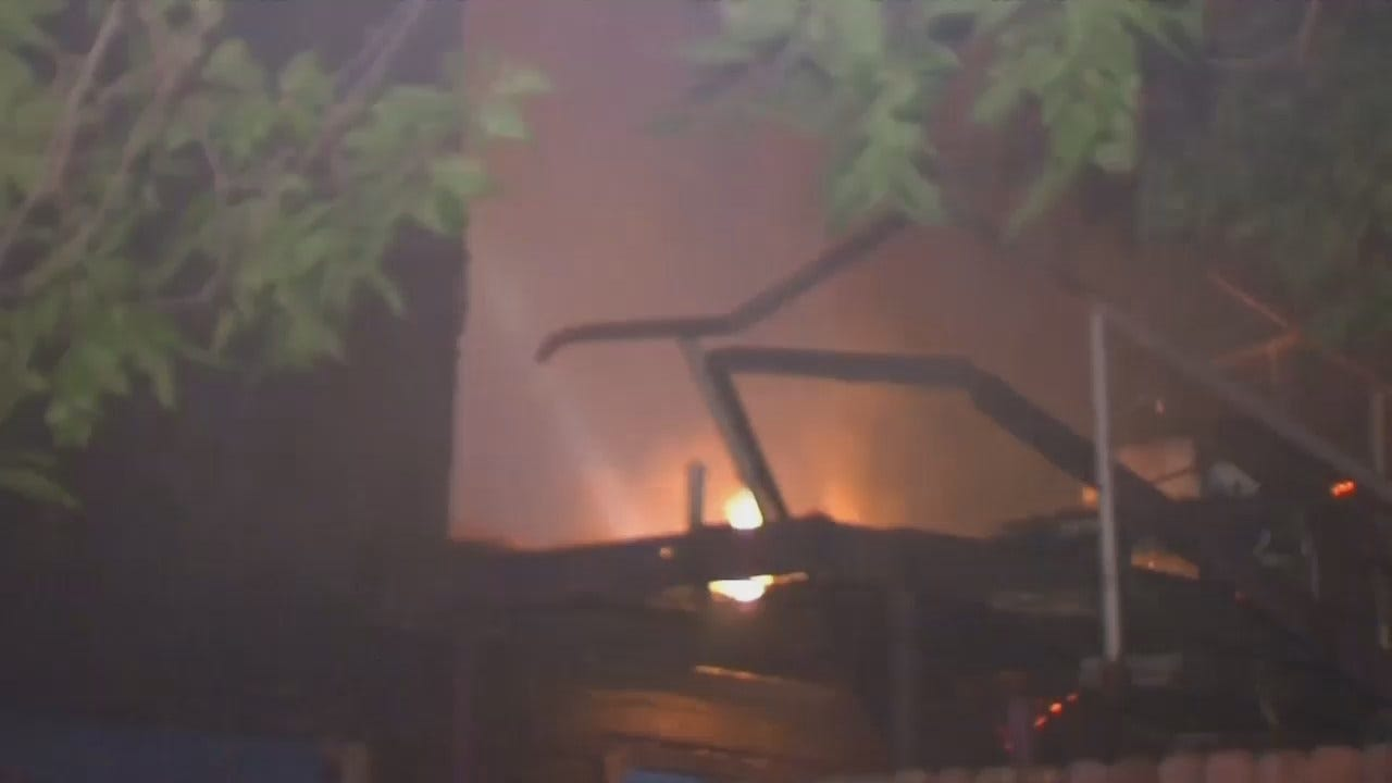 Tulsa-Area Firefighters Called To Two House Fires