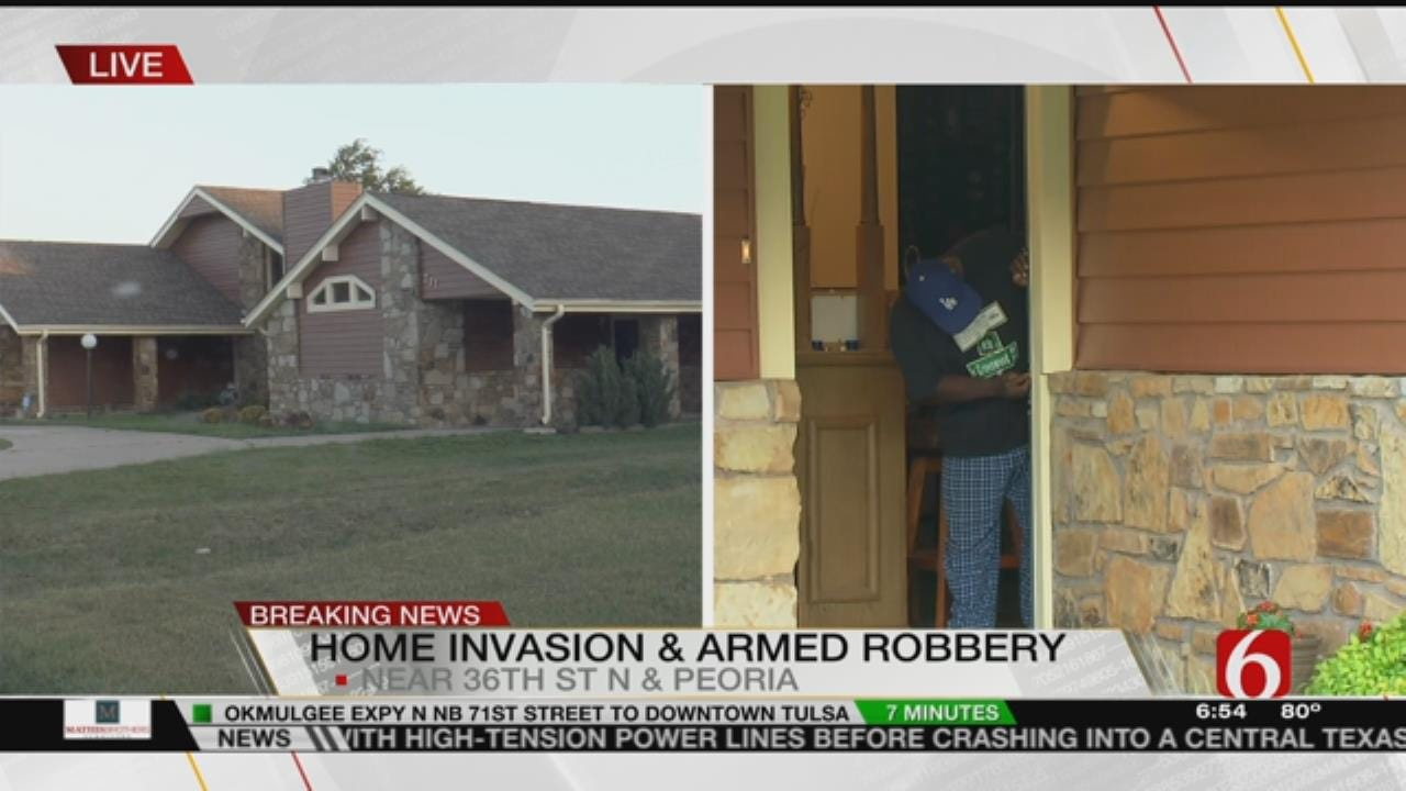 Woman Held At Gunpoint In Tulsa Home Invasion