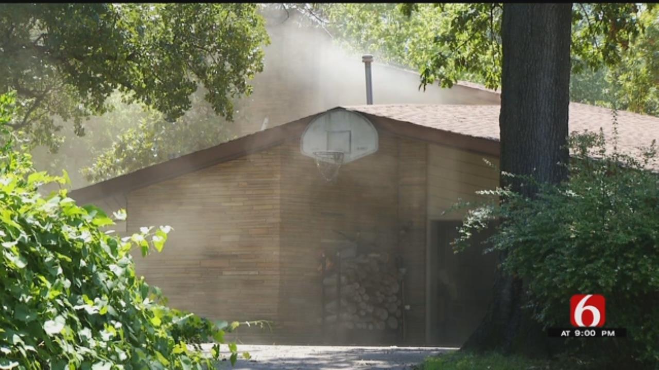 Elderly Couple Escapes Tulsa House Fire
