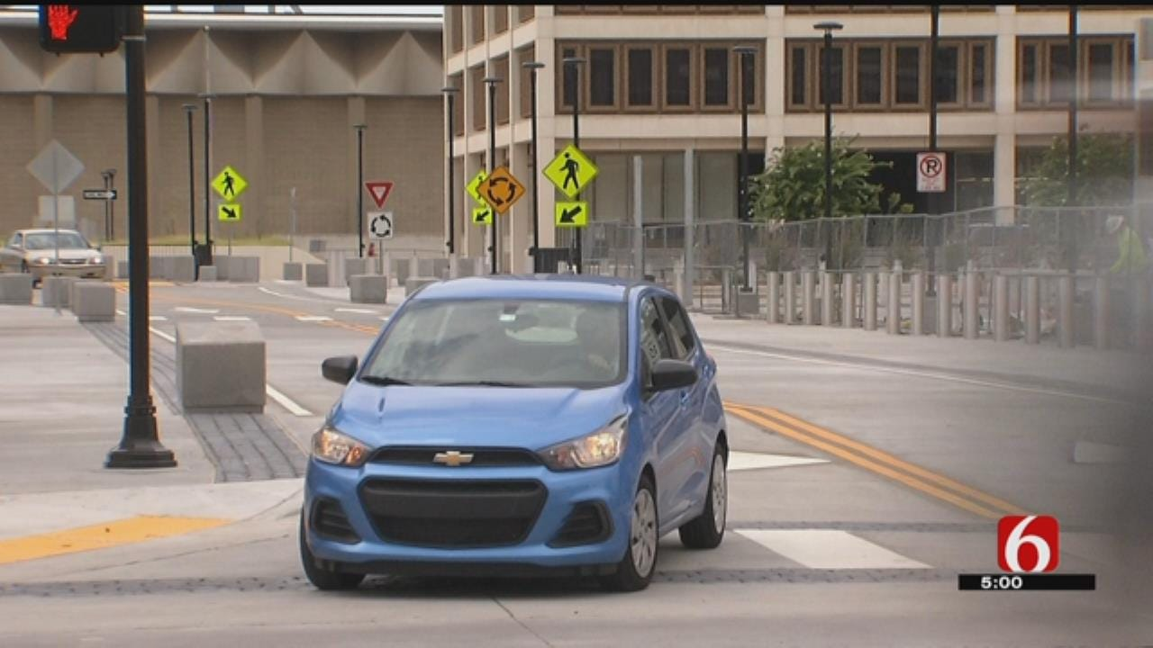 After Being Closed For Years, Downtown Tulsa Street Reopens