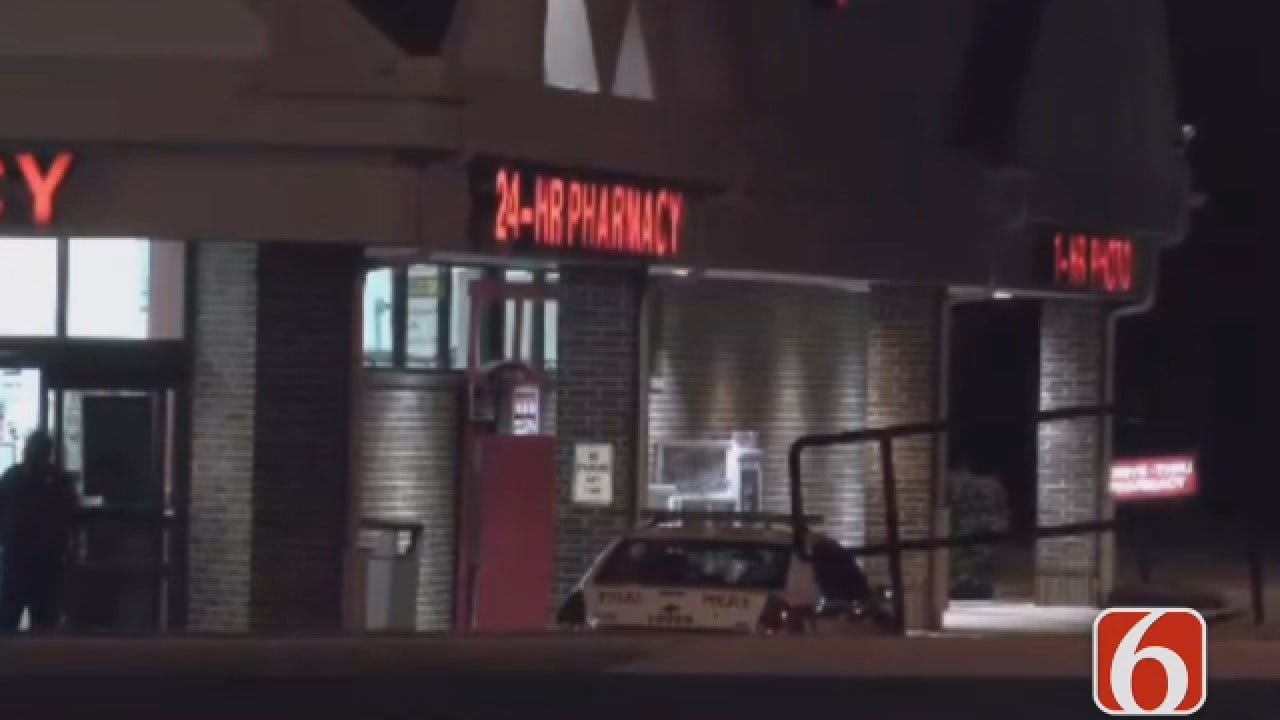 Dave Davis Reports Robber Uses Hammer To Rob A Tulsa Drug Store