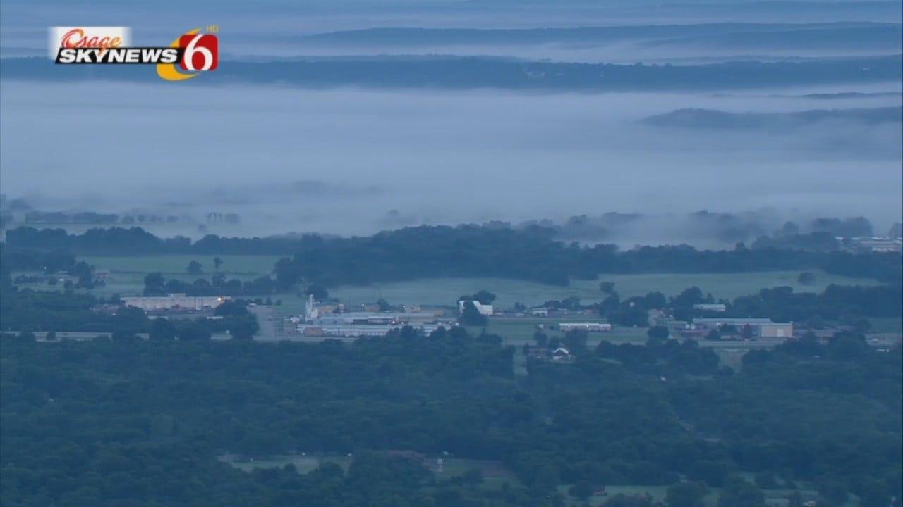 Osage SkyNews 6 HD Flies Through Early Morning Fog