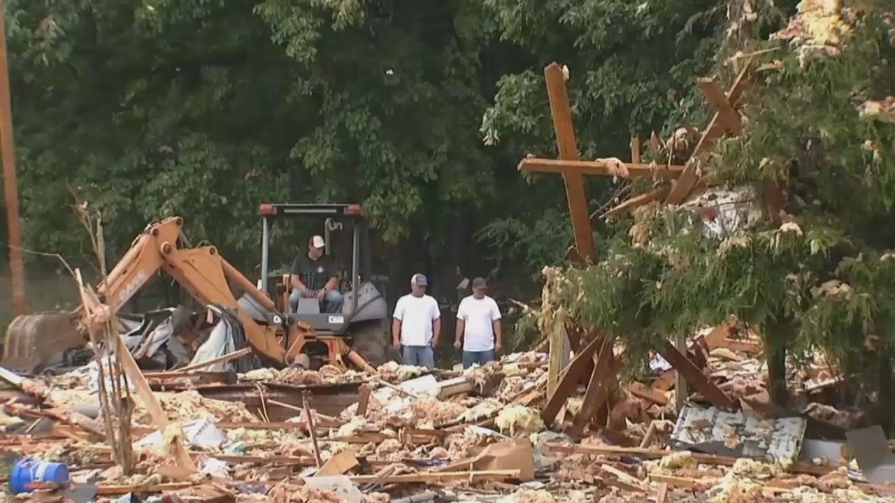 WEB EXTRA: One Dead In Cherokee County House Explosion