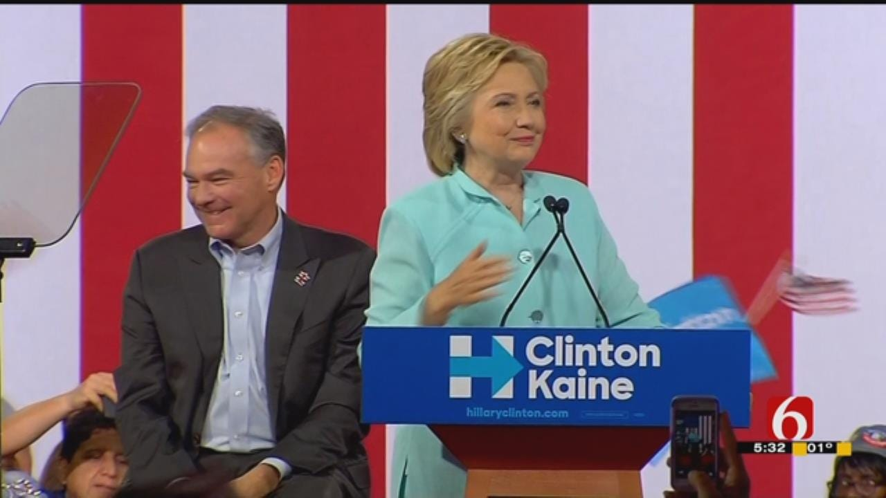Oklahoma Democrats Head To Convention, Expect 'Electrifying' Week