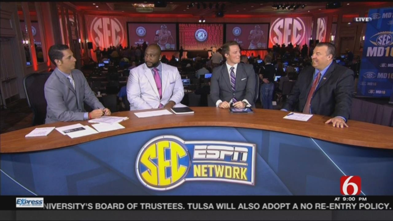 Former News On 6 Sports Reporter, Tulsa Native Dari Nowkhah On His Journey To The SEC Network