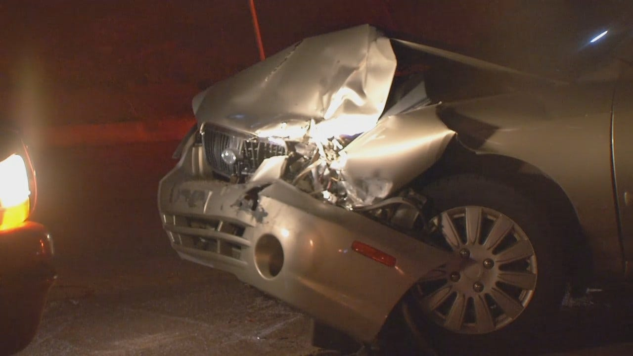 WEB EXTRA: Video From Scene Of Downtown Tulsa Crash