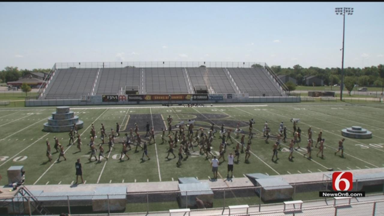 Despite Summer Heat, Musicians March On In Broken Arrow