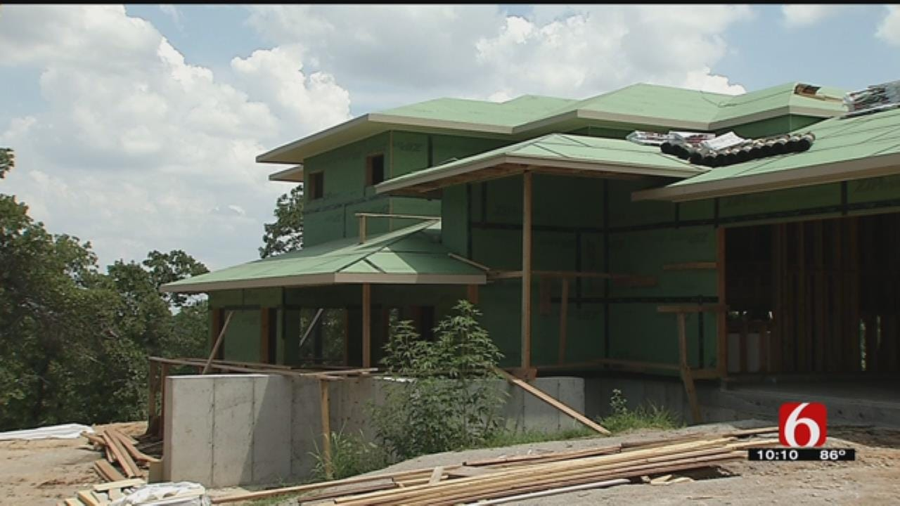 First 'Fortified' Home Nearing Completion In Sand Springs