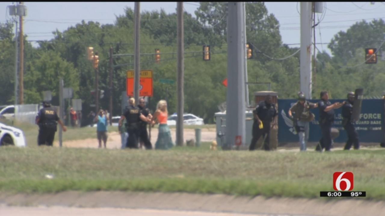 Woman Involved In Standoff At Tulsa Air National Guard Base