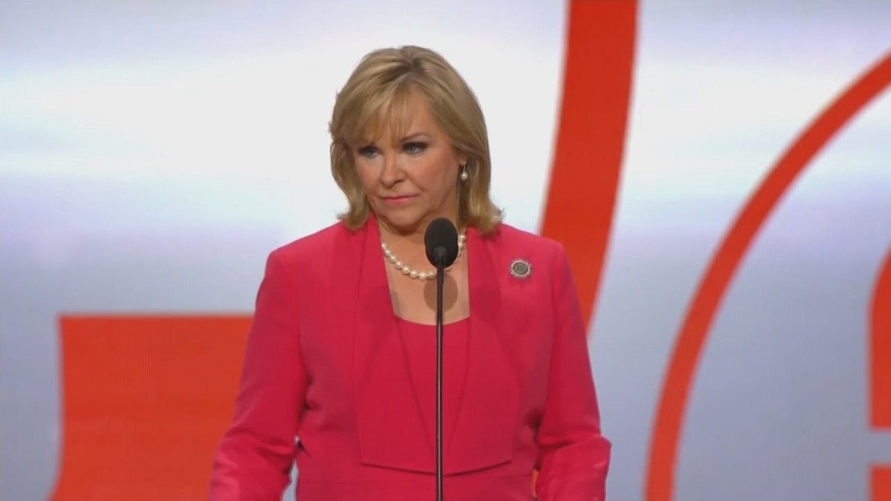 WEB EXTRA: Governor Fallin Speaks At Republican National Convention