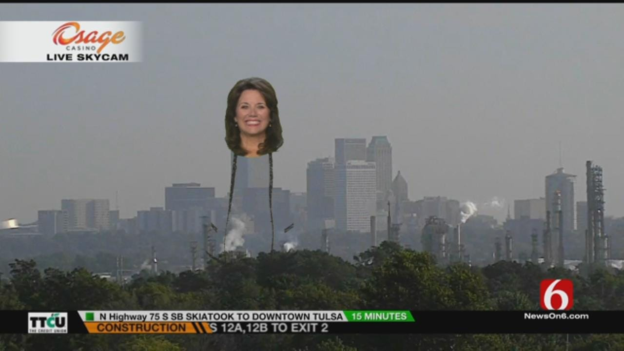 LeAnne Taylor Has Fun With Green Screen