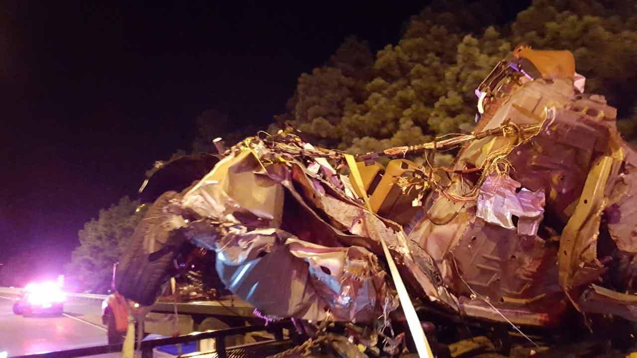 Two Men Killed In High-Speed Crash On Creek Turnpike