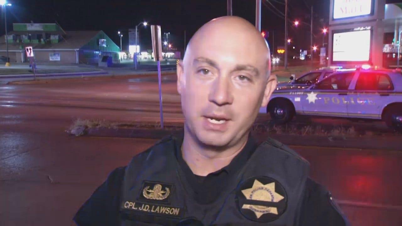 WEB EXTRA: Tulsa Police Cpl. J.D. Lawson Talks About Crash