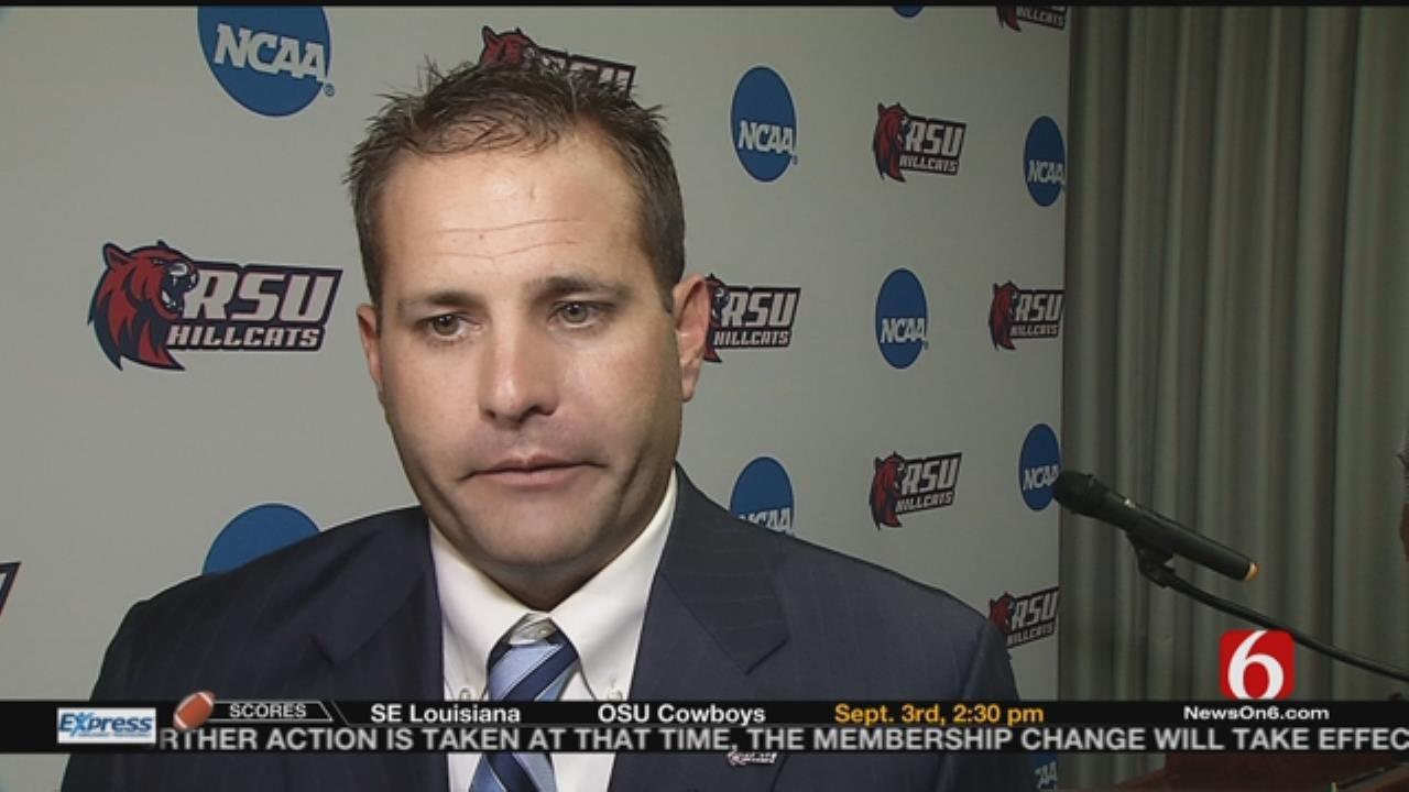 RSU Athletic Director Ryan Erwin Talks NCAA Division II Membership