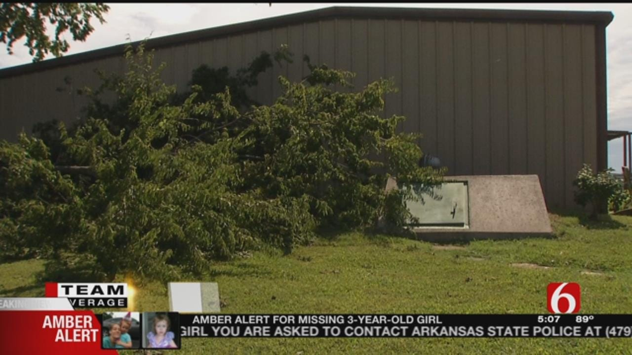 Inola Family Safe After Being Trapped in Storm Shelter