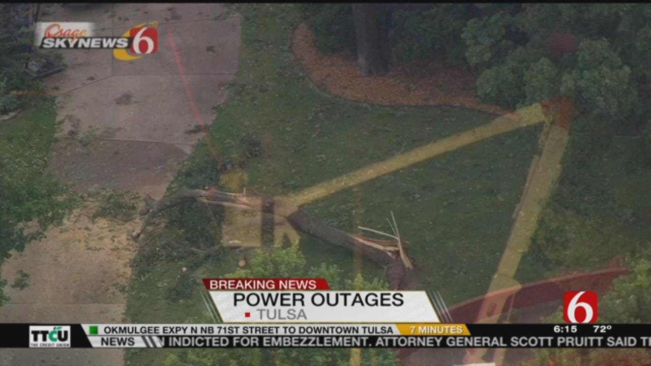 WEB EXTRA: PSO's Stan Whiteford Gives Power Outage Status Update