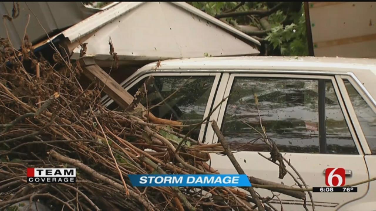 Glenpool Storm Damage Widespread
