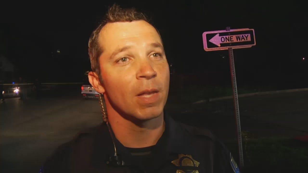 WEB EXTRA: Tulsa Police Cpl Wyatt Poth Talks About Stabbing