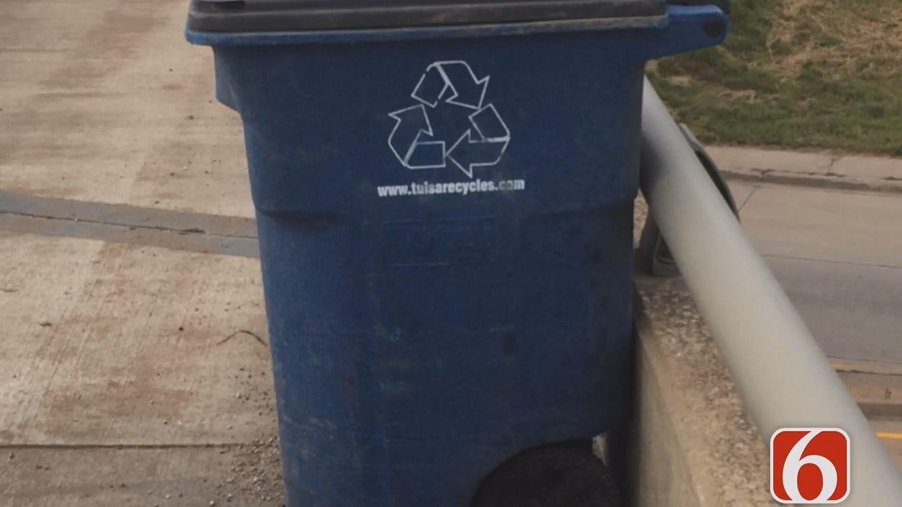 Gary Kruse: Tulsa Recycling Cart Causes Crash