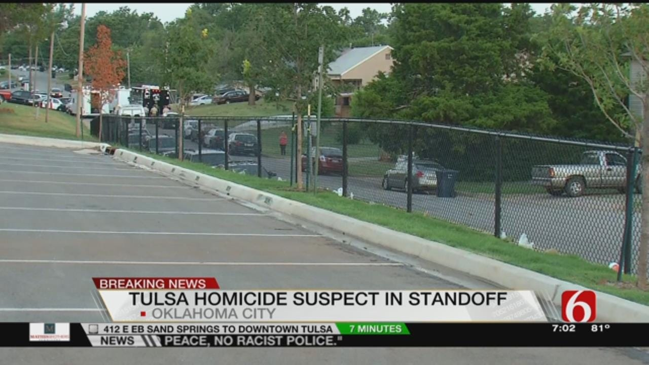OKC Police In Stand-Off At Home Of Tulsa Murder Suspect