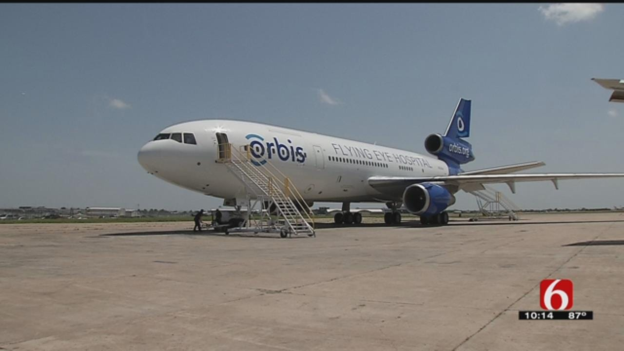 Tulsa-Based Company Donates To Plane On A Mission To Change Lives