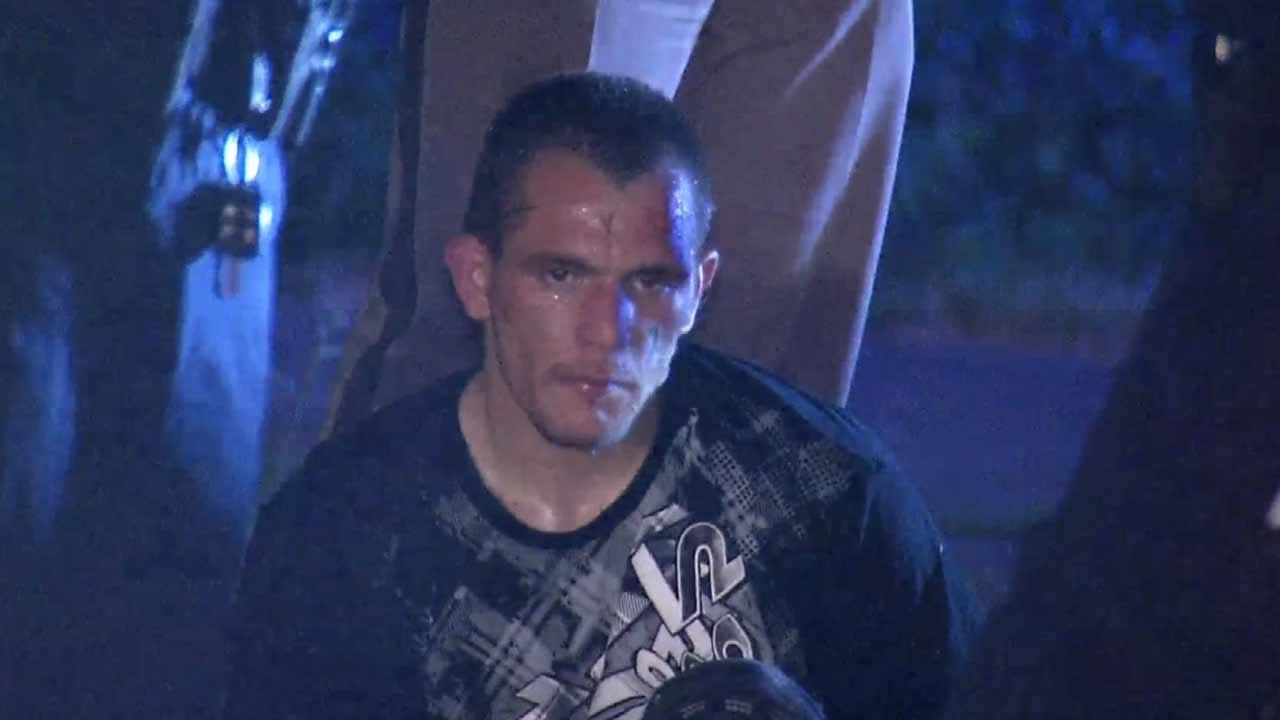 Police: Tulsa Man Crashes Stolen Pickup Into Neighborhood