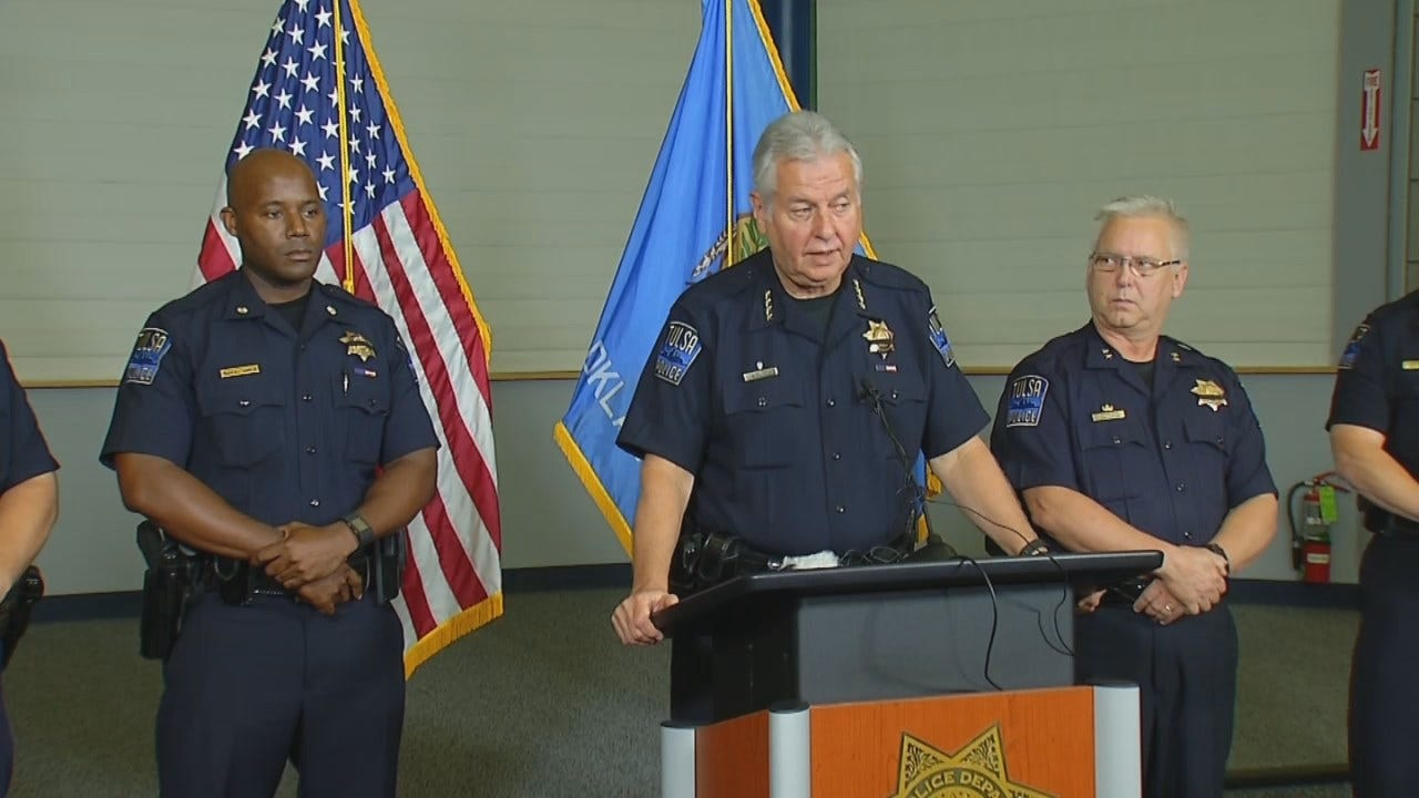 WEB EXTRA: Part 2 Tulsa Police Hold News Conference After Dallas Shooting