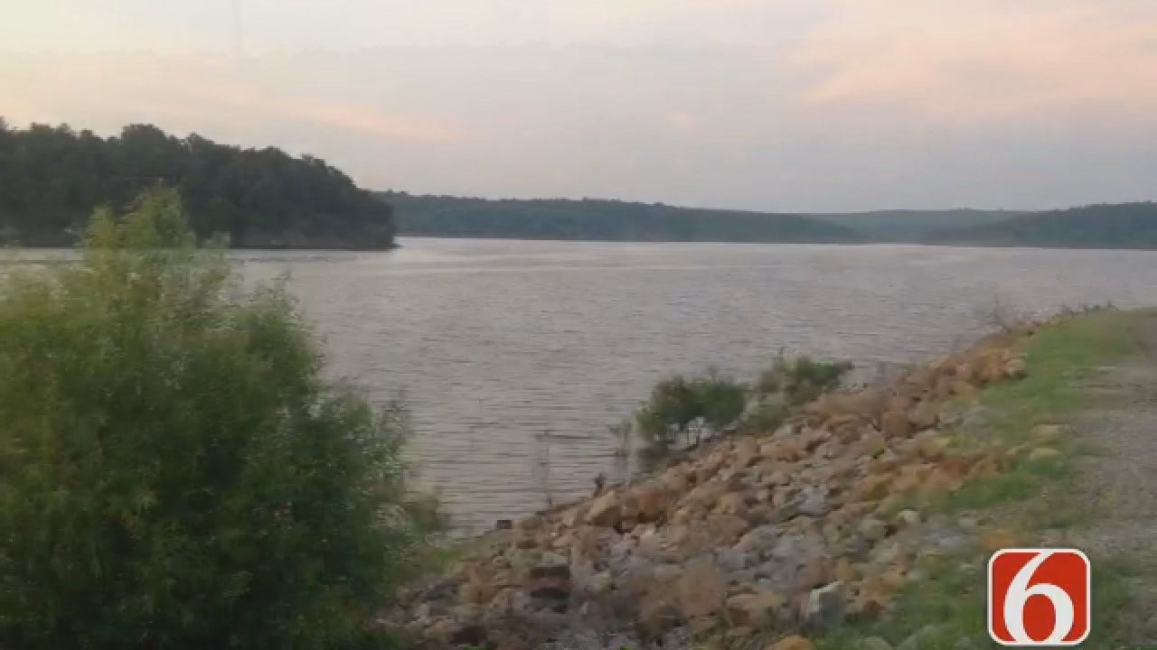 Dave Davis Reports On Search For Skiatook Lake Drowning Victim