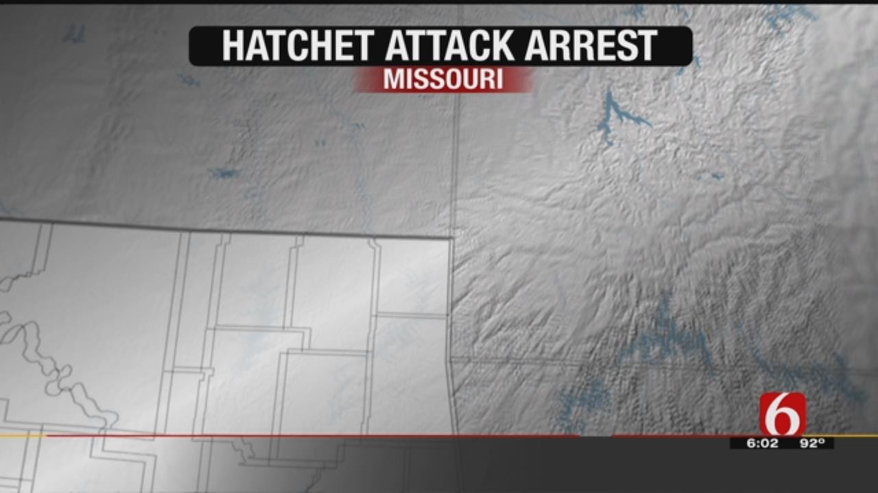 Sand Springs Teen Accused Of Attacking Dad With Hatchet In Custody