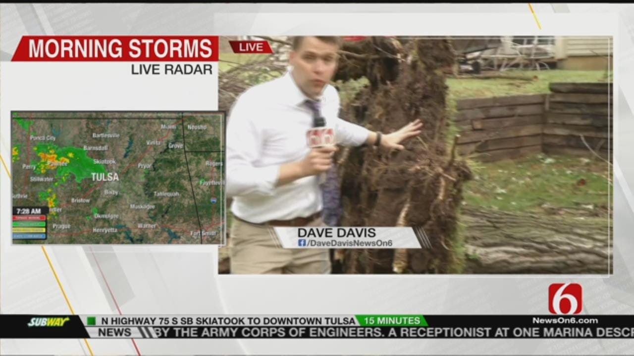 Collinsville Residents Clean Up After Storm