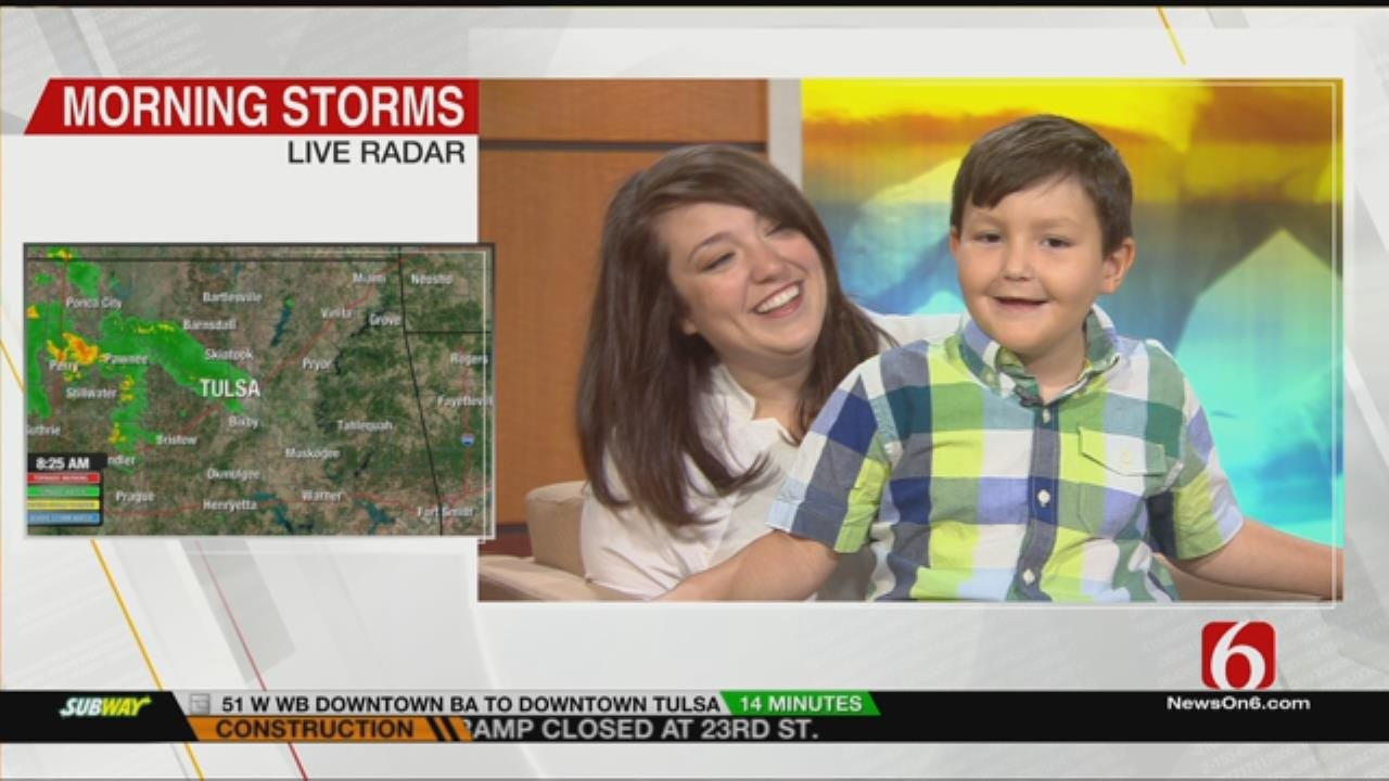 Bartlesville Family Talks About Son's Cancer Battle On 6 In The Morning