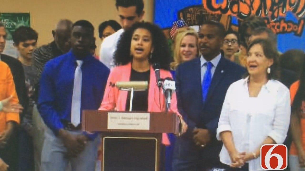 Katiera Winfrey: Donation Helps Booker T. Washington Hire More Teachers