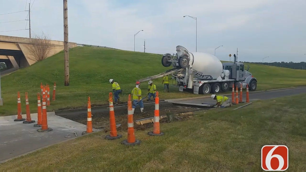 Dave Davis Reports Repairs Underway On Tisdale Ramps At Pine