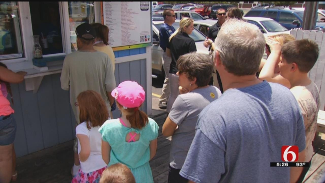 News On 6 Takes Over Josh's Sno Shack For Good Cause