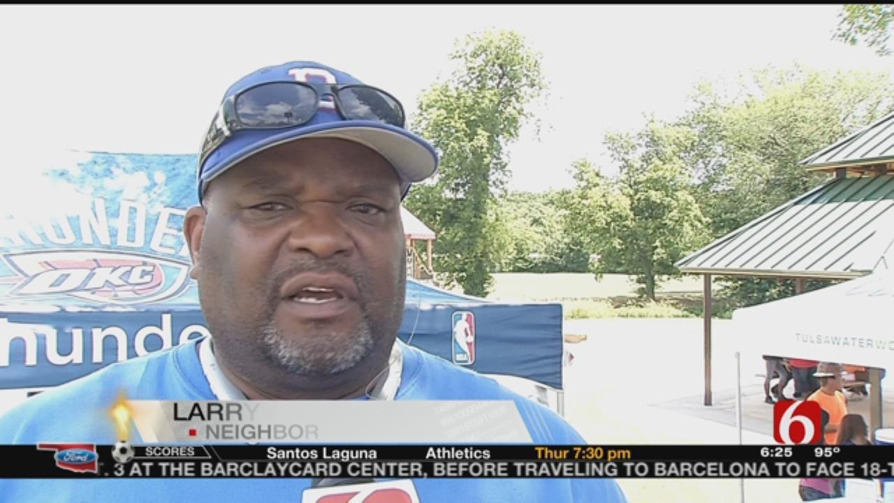 OKC Thunder's Big Donation Helps Renovate Tulsa Park