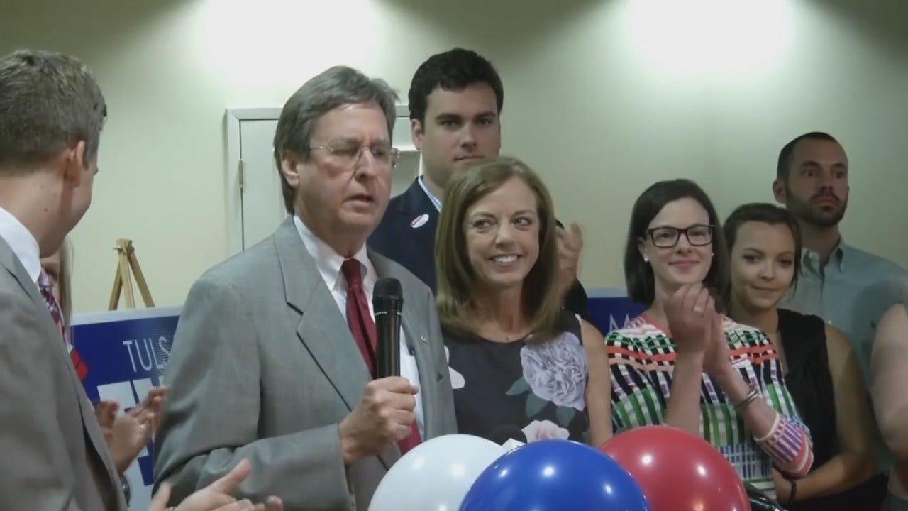 WEB EXTRA: Dewey Bartlett Speaks After Losing Mayoral Race
