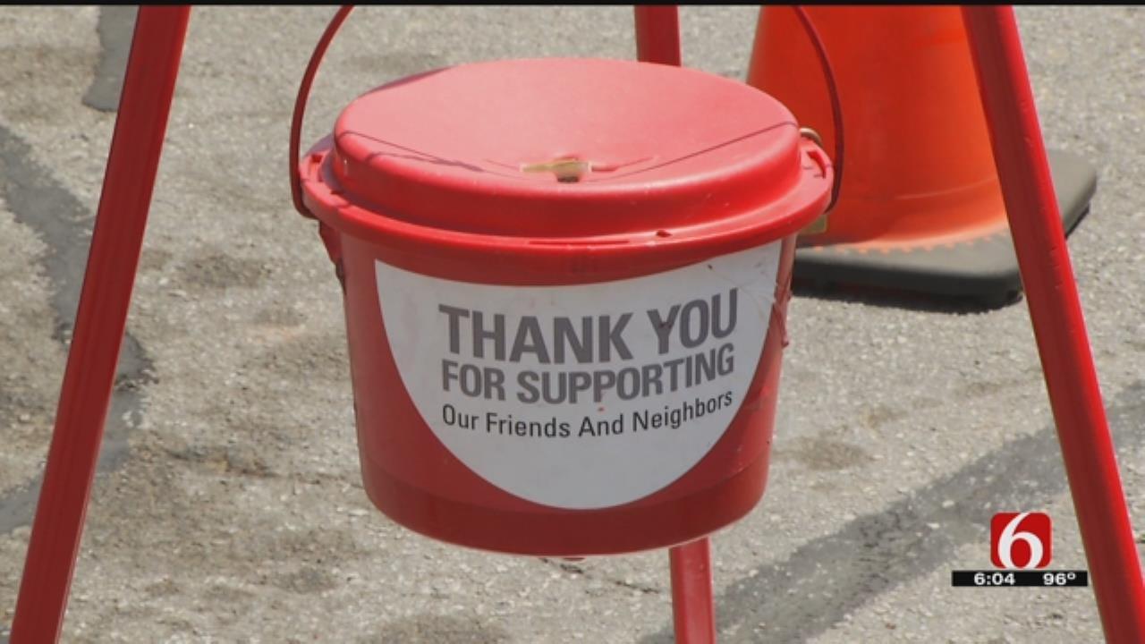 Salvation Army Seeks Fan Donations As Heat Dangers Rise In Tulsa