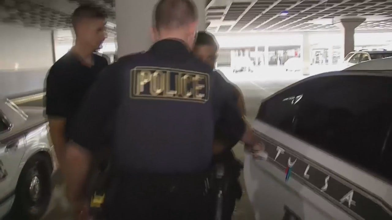 WEB EXTRA: Tulsa Police Arrest Two Carjacking Suspects