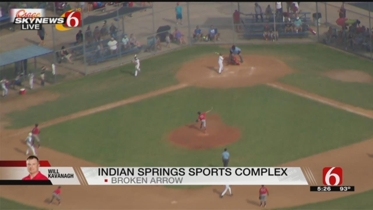 Baseball Players Come To Green Country For State Titles