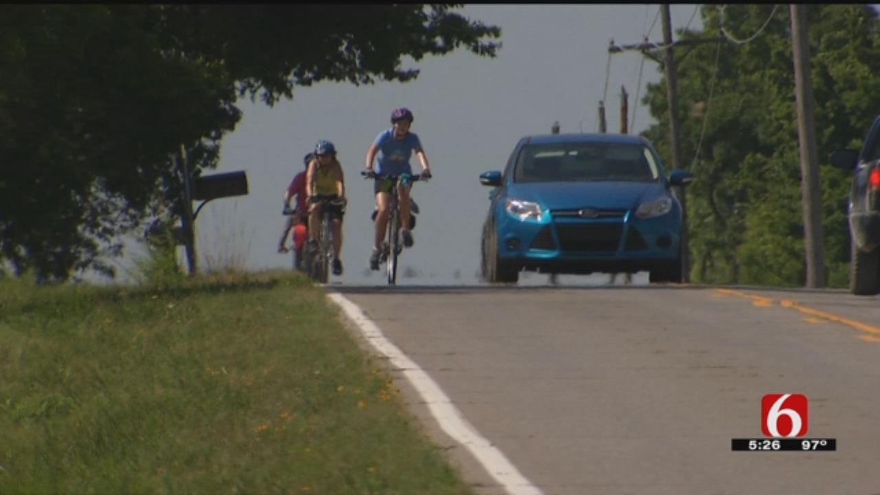 400 Bicyclists Take Off On Week-Long Oklahoma Tour