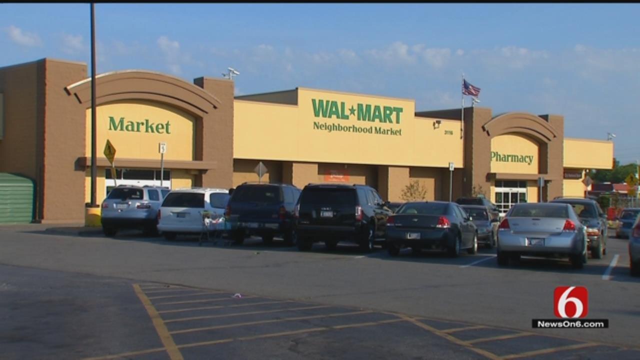 Shoplifter Punches Walmart Greeter, Tulsa Police Say