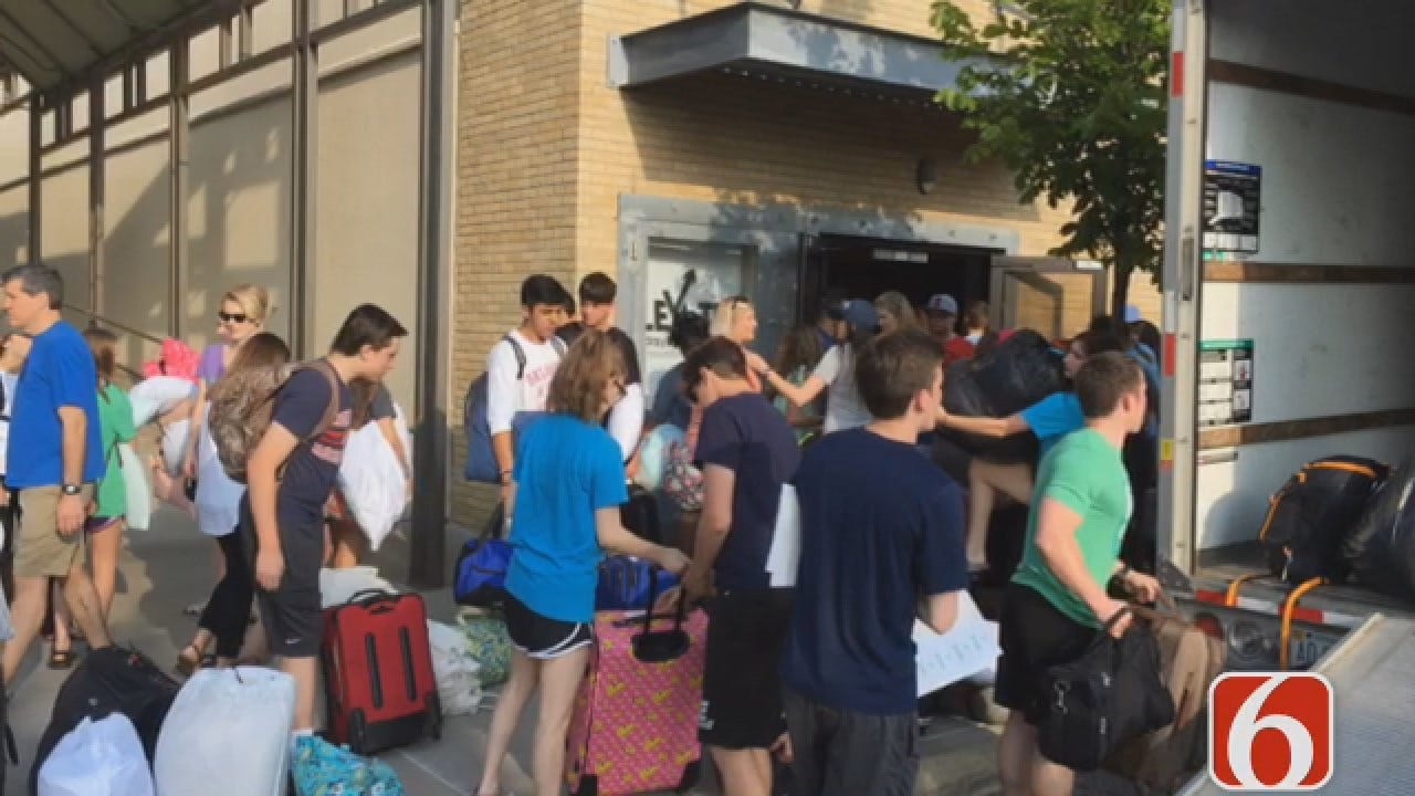 Emory Bryan Reports On Falls Creek Camp Tradition