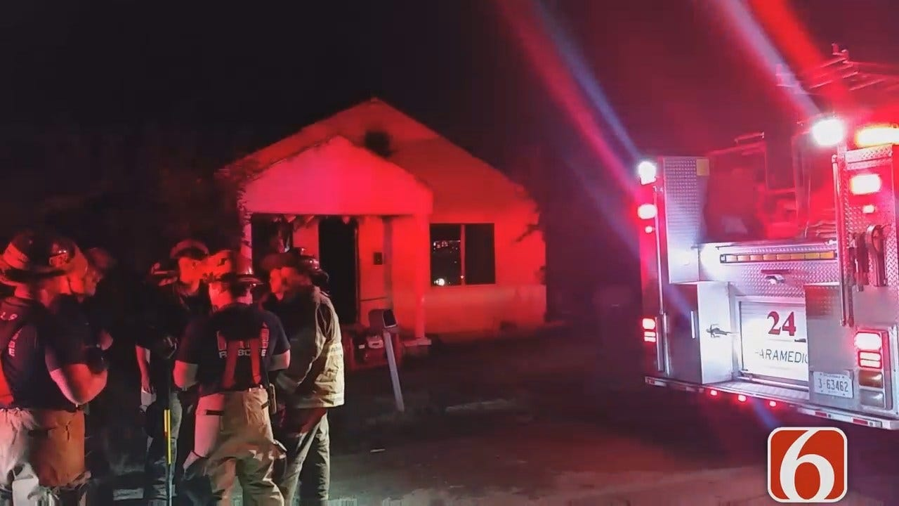 Dave Davis Reports On Zion Place House Fire