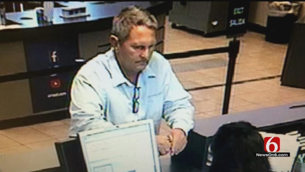 Man Sought After East Tulsa Bank Robbery
