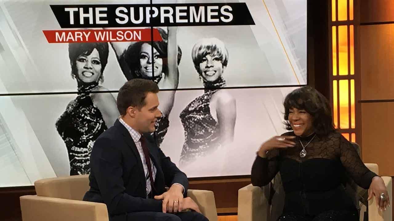 Mary Wilson Of The Supremes Visits Tulsa