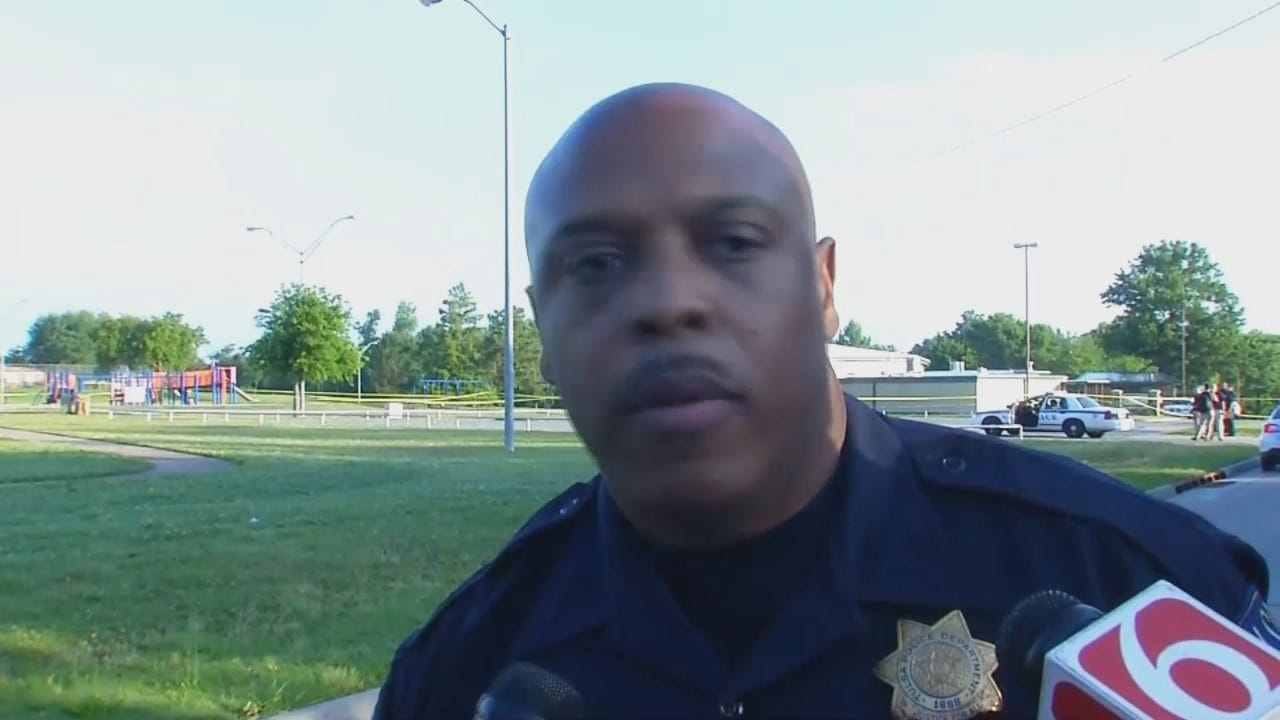 WEB EXTRA: Tulsa Police Officer Leland Ashley Talks About The Homicide