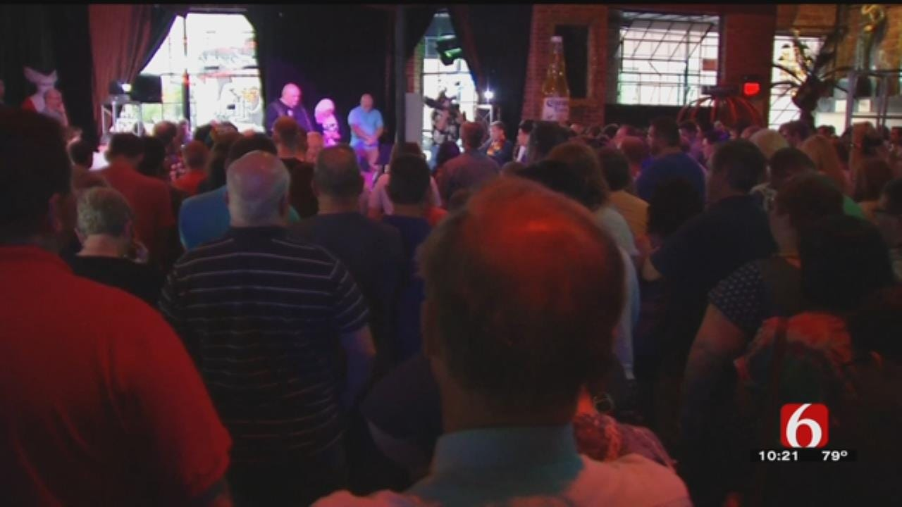 Tulsans Hold Vigil For Orlando Shooting Victims; Nightclub Owners Discuss Safety