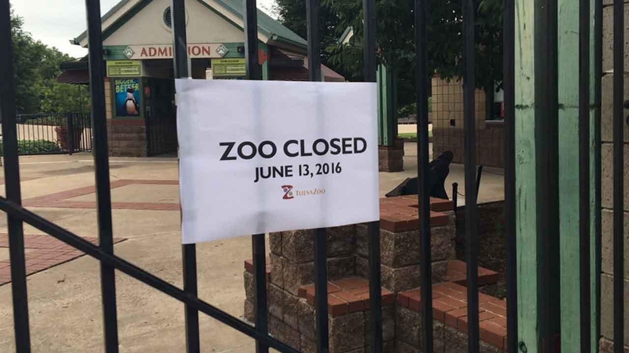 Joseph Holloway Reports On Tulsa Zoo Threat
