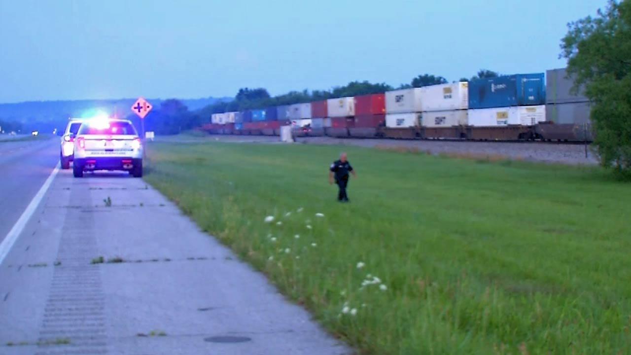 Gary Kruse Reports On Fatal Train Wreck Near Foyil
